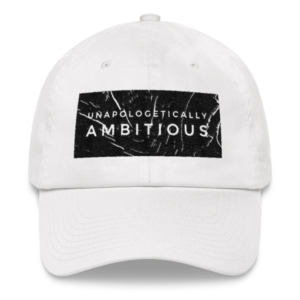 Ambitious marble Dad hat
